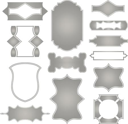 Set frames  Vector Vector