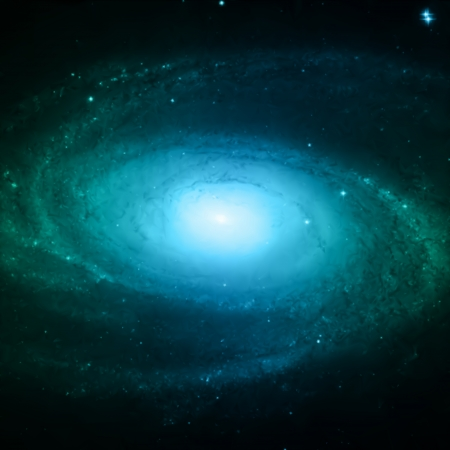 Illustration of Spiral Galaxy  Illustration