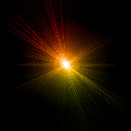 Light flare effect  Vector