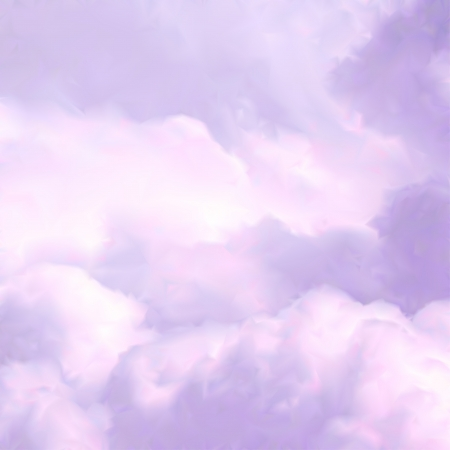 candy background: White Sky and Clouds. Vector illustration