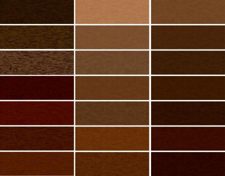 Wooden materials vector set Stock Photo - 20595528