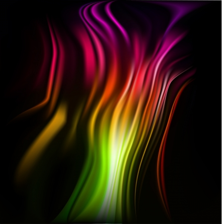 Colorful wavy abstract background for design Stock Photo - 21037509