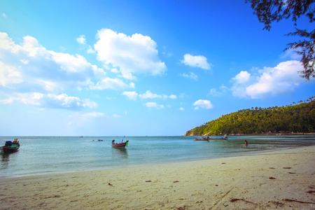 koh: Hermosa isla en Koh Phangan. Tailandia