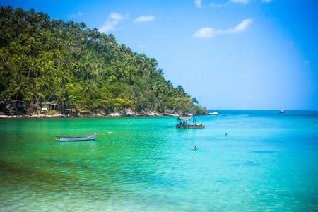 phangan: Tropical beach at Koh Phangan