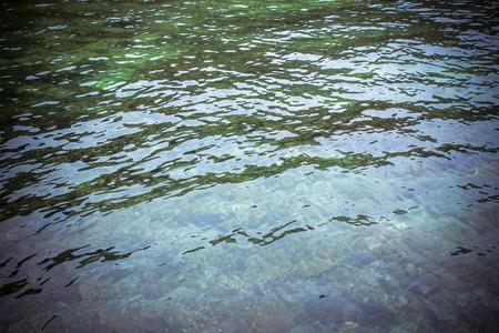 Blue azure Water Surface Texture