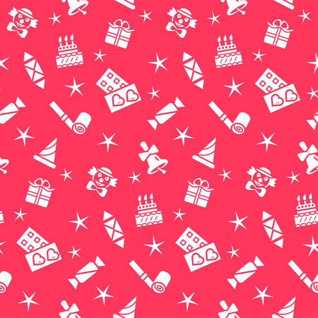 holiday background: Holiday seamless pattern, vector  background