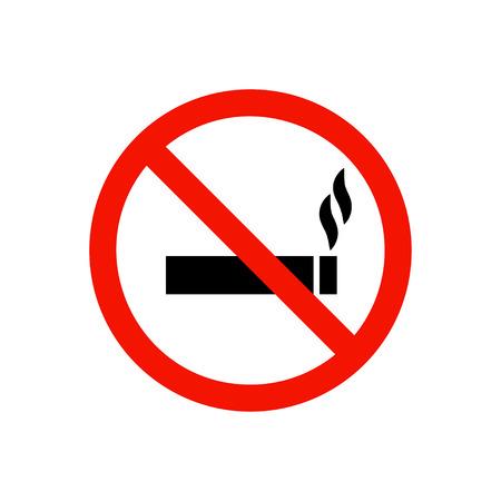 no fumar: No fumar prohibir la muestra.