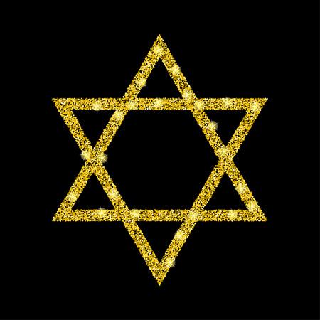 hanuka: Golden star of David