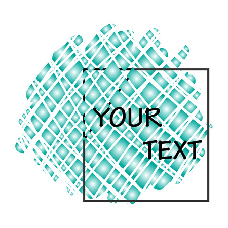 place for your text: Abstract background with place for your text.
