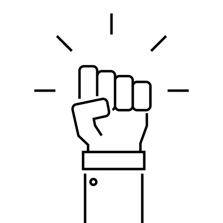 power icon: Fist icon vector, fist  JPEG, fist object, fist picture, fist image, fist graphic, fist  art, fist EPS, fist AI, fist drawing.