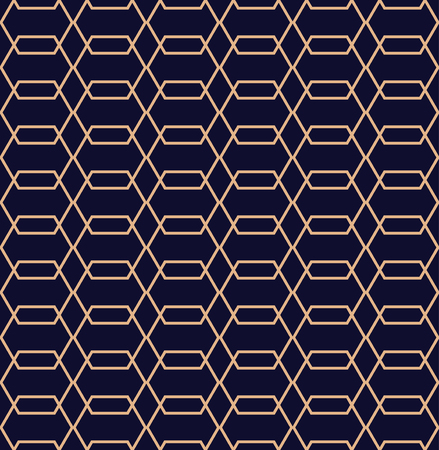 Abstract vector geometric pattern in line style.