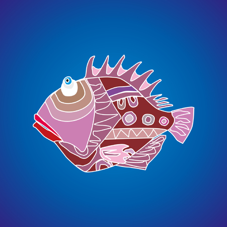 nemo: Funny cartoon fish