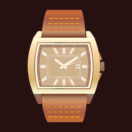 wrist: wrist watch