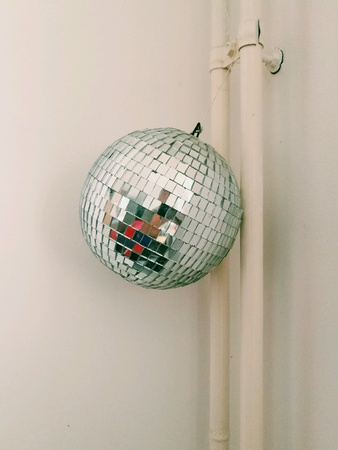 Disco Ball in the room