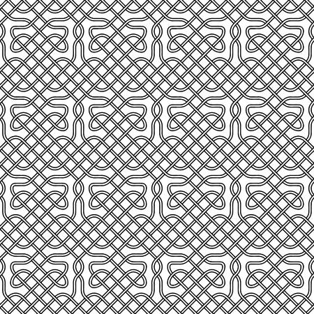 celts: Seamless celtic or scandinavian pattern, illustration for ornate, textile, wallpaper or packaging.