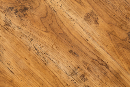Old Antique Mahogany Wooden Table Top Background Full Of Wood Worm Holes  Stock Photo   65287266