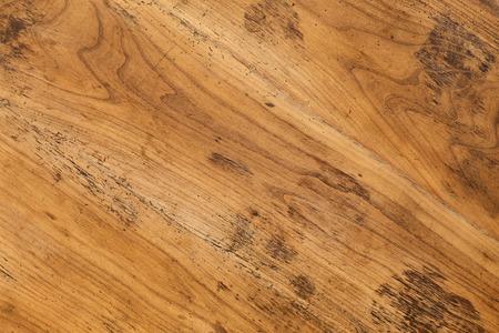 caoba: Antiguo antiguo de caoba mesa de madera de fondo lleno de agujeros de gusano de madera
