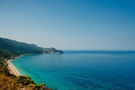 Mare Ionio Isola di Leucade Grecia Archivio Fotografico - 13769829