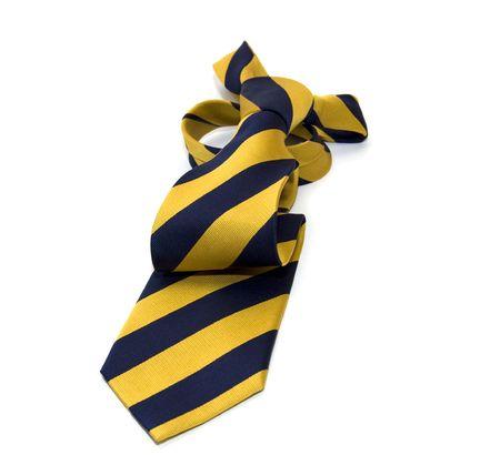 A necktie isolated on white  Stock Photo - 4375668