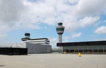schiphol: Schiphol airport in Amsterdam in the Netherlands  Stock Photo