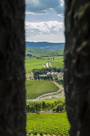 scenary: tuscany scenary
