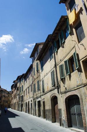 urban scene: siena urban scene