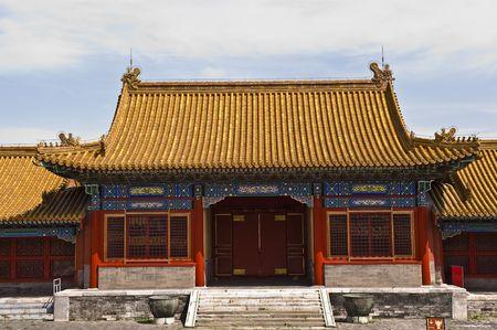 Palace at Forbidden city Beijing China