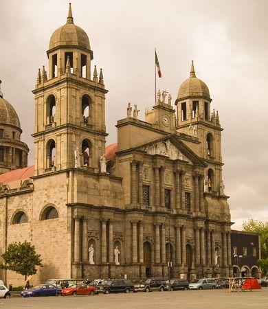 Toluca Mexico, Cathedra at Main square -Toluca Mexico