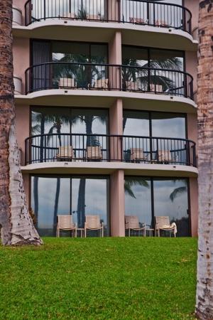 kona: Resort hotel in Big island  in Kona Hawai Editorial