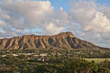 Diamond Head Crater on the Hawaiian island of Oahu