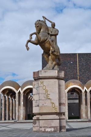 morelos: Statue of Morelos in Toluca Mexico