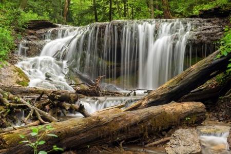 weavers: The falls on Weavers Creek in Owen Sound,Ontario Canada