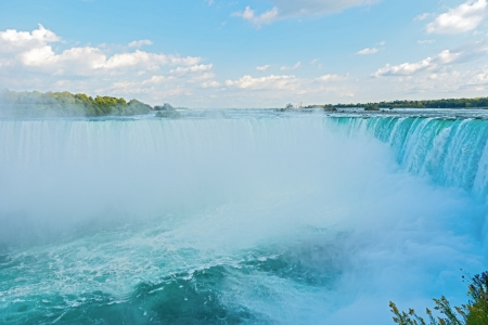 Niagara Falls as viewed from Canadian site Stock Photo - 15888474