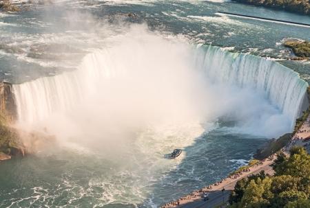 Niagara Falls aerial view from Skylon Tower platforms Stock Photo - 15888491