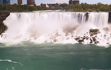 Horseshoe Falls in Niagara, Ontario, Canada photo