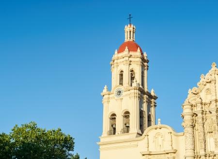 san miguel arcangel: Iglesia católica Catedral de Santiago de Saltillo, México