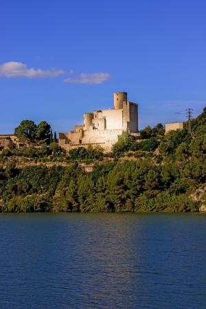 Castellet i la Gornal monument indexed in the Catalan heritage register near Barcelona, Spain