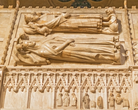 Monastery of Santa Maria de Poblet inCatalonia,Spain.