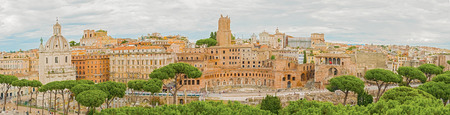 public houses: The Imperial Fora are a series of monumental fora (public squares), constructed in Rome over a period of one and a half centuries, between 46 BC and 113 AD. The forums were the center of the Roman Republic and of the Roman Empire.