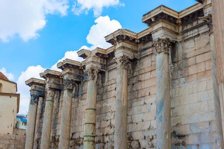 greece granite: The ruins of Hadrian
