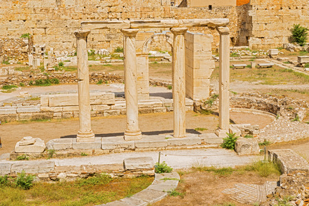 hadrian: The ruins of Hadrian