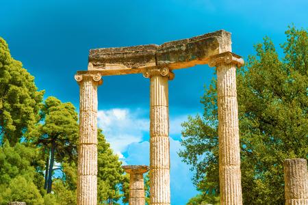 greece granite: Ruin of Philips