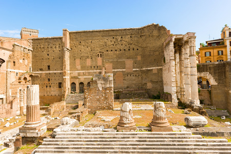 augustus: The Forum of Augustus is one of the Imperial forums of Rome, Italy, built by Augustus. It includes the Temple of Mars Ultor.