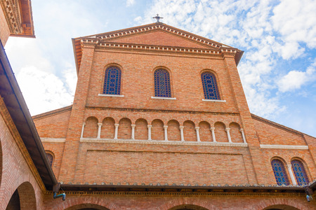 Church of SantAnselmo allAventino, Rome. It is in the Cavalieri di Malta square.  It was built by Francesco Vespignani between 1892 and 1896, on a land given by the Knights of Malta to the Benedictines, who made it their central church in Rome, together
