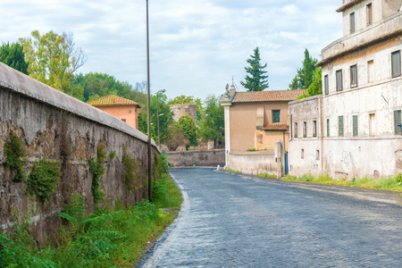 popularly: View at Via Appia and Church  popularly known as Domine Quo Vadis.