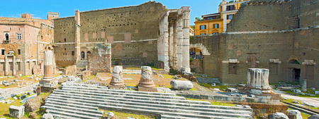 The Forum of Augustus is one of the Imperial forums of Rome, Italy, built by Augustus. It includes the Temple of Mars Ultor.