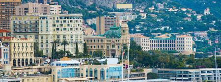 monte carlo: Panorama of the city of Monte Carlo  in Monaco.