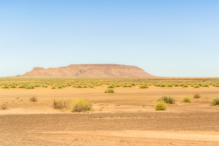 southern: Rock in the desert in southern Namibia