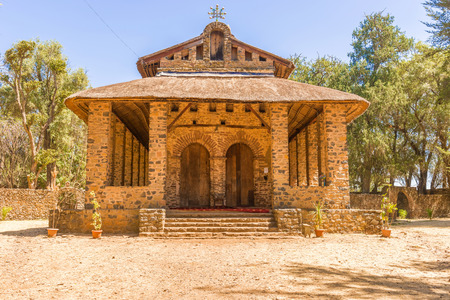 selassie: Christian church in Gondar, Ethiopia. It was named Debre Birhan Selassie, Trinity and Mountain of Light, and it is historic church in Gondar.