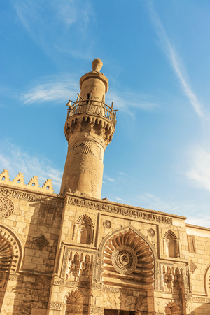 View at the Old mosque in Cairo, Egypt